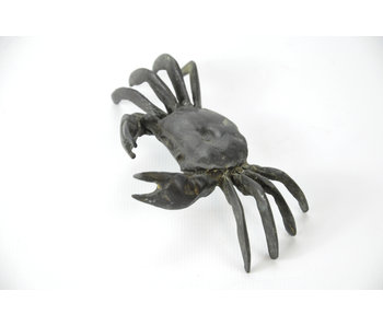 Tenpai Crab, bronze, 107 mm