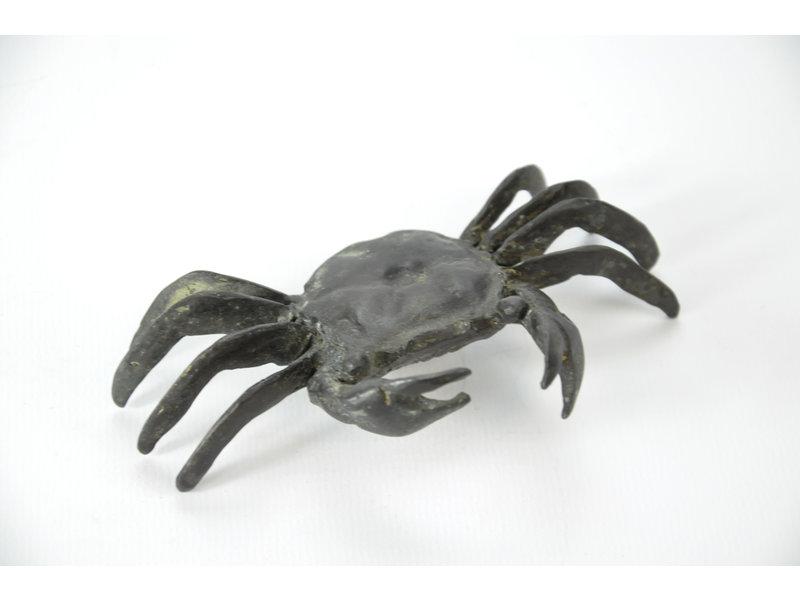 Tenpai Crab, bronze, 107 mm