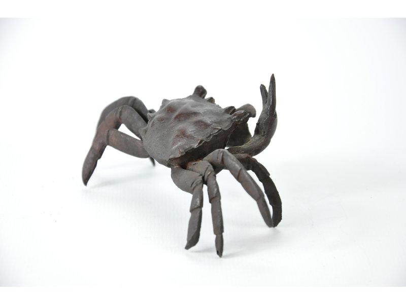 Cangrejo Tenpai, bronce, 110 mm
