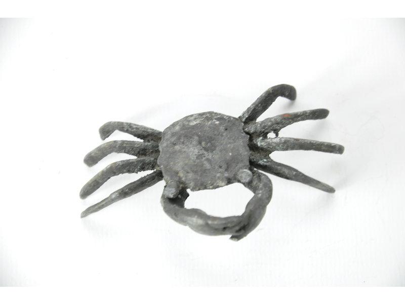 Cangrejo Tenpai, bronce, 85 mm