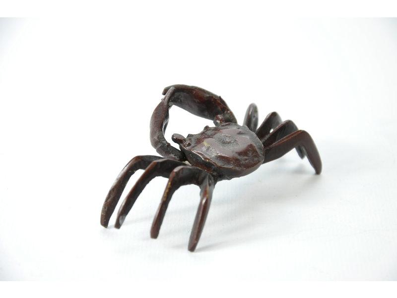 Granchio Tenpai, bronzo, 85 mm