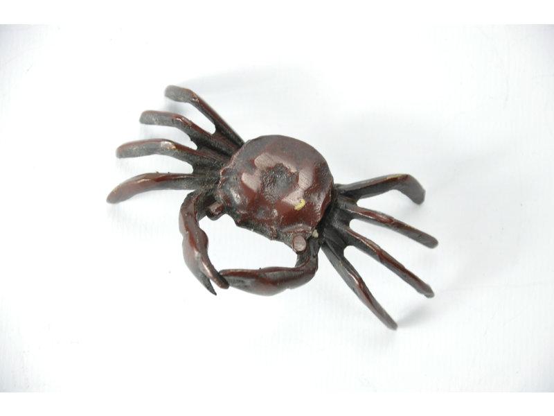 Tenpai Crab, bronze, 85 mm