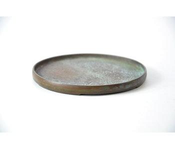 Ronde bronzen suiban - 105 mm (Doban)