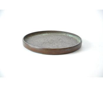 Suiban de bronce redondo - 85 mm (Doban)