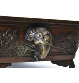 Rechthoekige bronzen suiban - 460 x 305 x 135 mm (Doban)