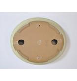Ovale creme Yamafusa pot - 160 x 135 x 31 mm