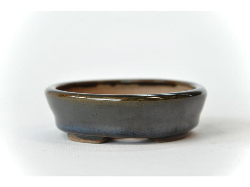 Ovale multicolor Seto-pot - 107 x 89 x 25 mm