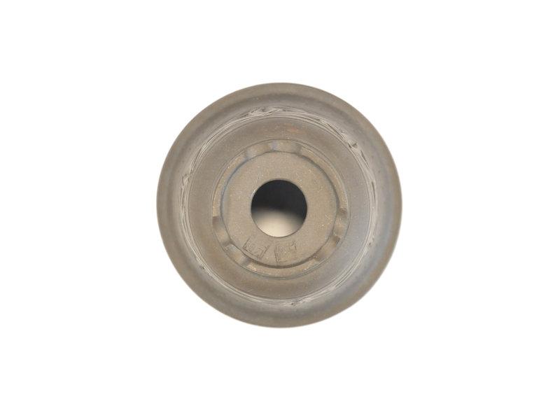 Ongeglazuurde fukiran-pot - 126 x 126 x 80 mm