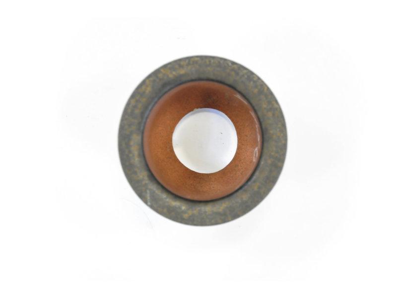 Ongeglazuurde Fukiran-pot - 100 x 100 x 70 mm