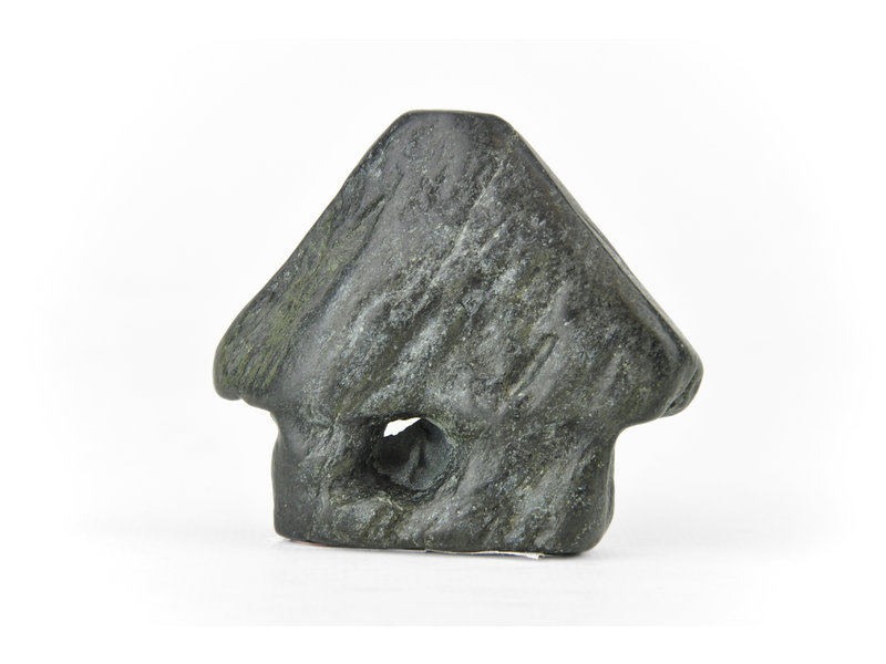 48 mm suiseki from Japan in hut stone style