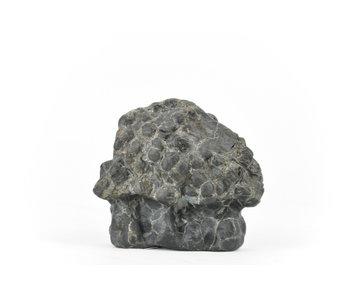 Suiseki de 65 mm importé du Japon dans un style pierre de hutte