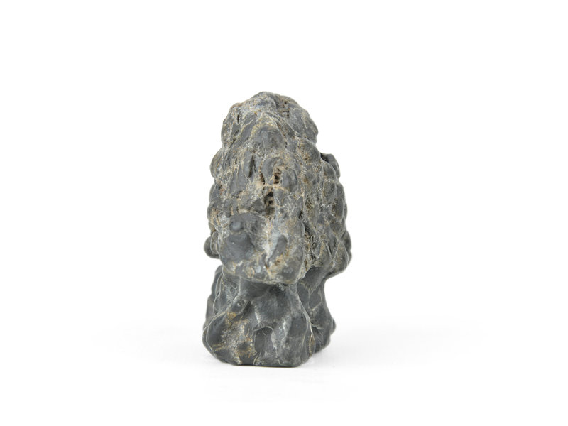 65 mm suiseki from Japan in hut stone style