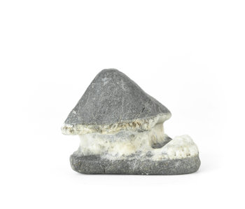 Suiseki de 80 mm de Japón en estilo cabaña de piedra