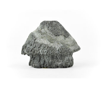 77 mm suiseki from Japan in hut stone style