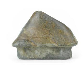 115 mm suiseki de Japón en estilo cabaña de piedra