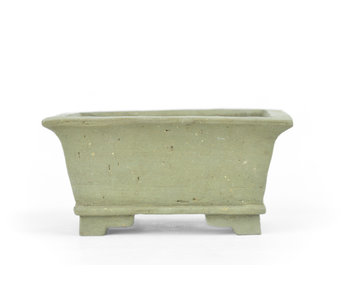 101 mm rectangular unglazed pot from Japan