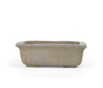 102 mm rechthoekige ongeglazuurde pot uit Japan