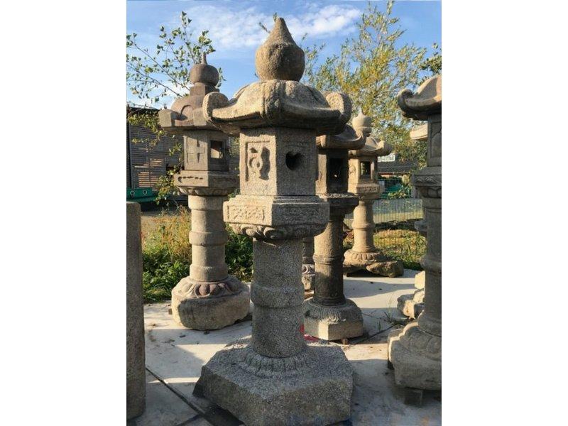 Japanse Stenen Lantaarn Kasuga Gata 220 cm