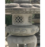 Japanse Stenen Lantaarn Maru Yukimi Gata 137 cm
