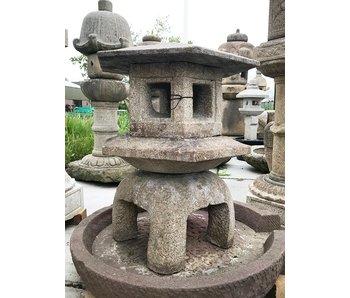 Japanse stenen lantaarn Katsura Yukimi Gata 90 cm