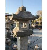 Japanse stenen lantaarn Nishinoya Gata 190 cm