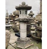 Japanse stenen lantaarn Yunoki Gata 180 cm