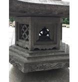 Japanse stenen lantaarn Kaku Yukimi Gata 113 cm