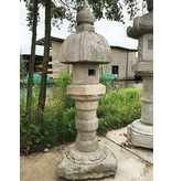 Japanse stenen lantaarn Nuresagi Gata 195 cm