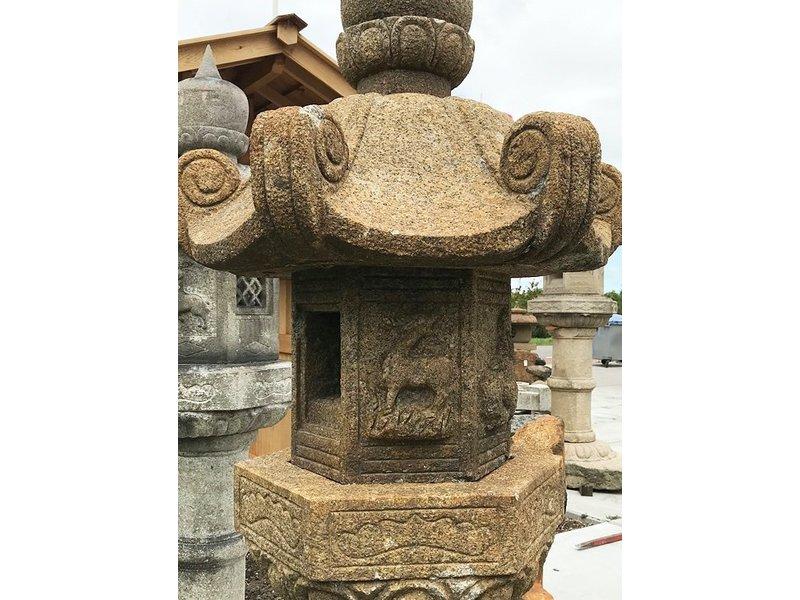 Japanse stenen lantaarn Kasuga Gata 210 cm