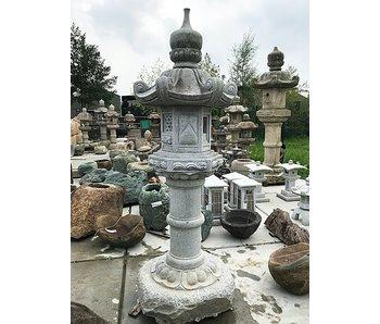 Lanterna giapponese in pietra Kasuga Gata 217 cm