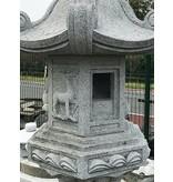 Japanse Stenen Lantaarn Kasuga Gata 217 cm