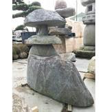 Japanse stenen lantaarn Nozura Gata 110 cm