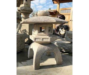 Japanische Steinlaterne Kodai Yukimi Gata 100 cm