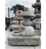 Japanse Stenen Lantaarn Haha tot Ko 135 cm