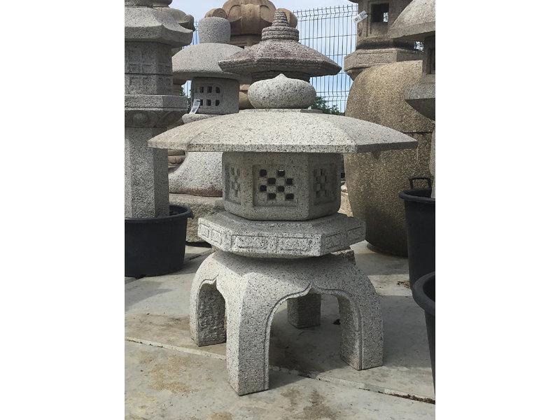 Japanse stenen lantaarn Kodai Yukimi Gata 82 cm