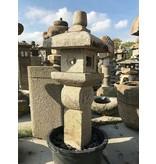 Japanse stenen lantaarn Oribe Gata 135 cm