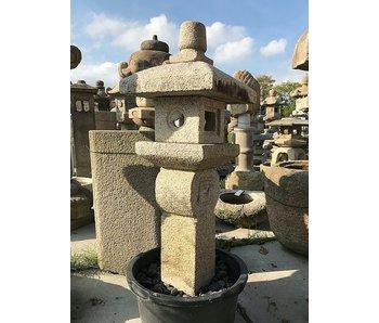 Japanese Stone Lantern Oribe Gata 135 cm