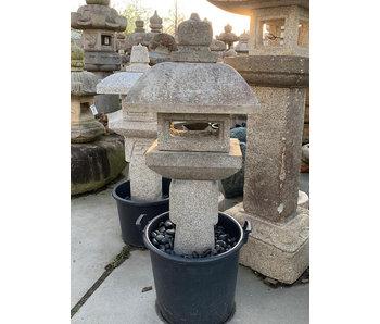 Farol de piedra japonés Oribe Gata 142 cm