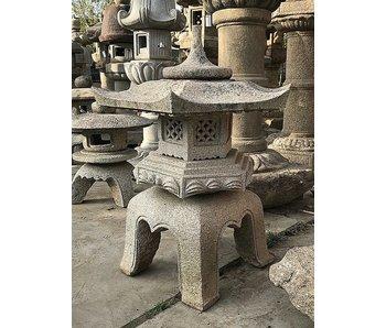 Farol de piedra japonés Kaku Yukimi Gata 95 cm