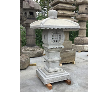 Farol de piedra japonés Tenka Chaya Gata 97 cm