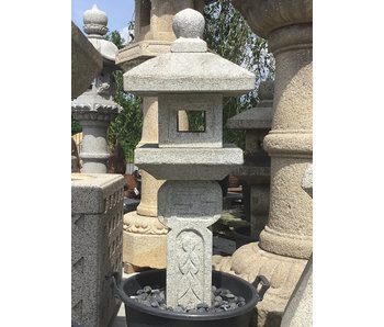 Japanse stenen lantaarn Oribe Gata 125 cm