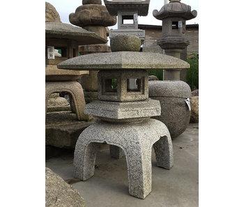Japanse stenen lantaarn Kodai Yukimi Gata 84 cm