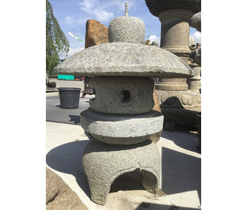 Farol de piedra japonés Kodai Maru Yukimi Gata 80 cm