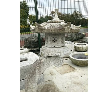Japanese Stone Lantern Rankei Gata 110 cm