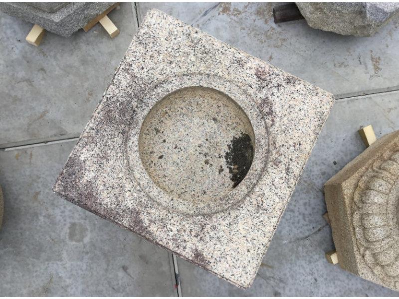 Japans Tsukubai-vierkant 74 cm