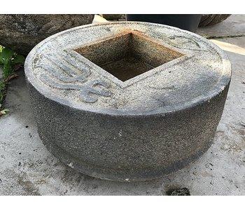Japanese chozubachi Zenigata 32 cm
