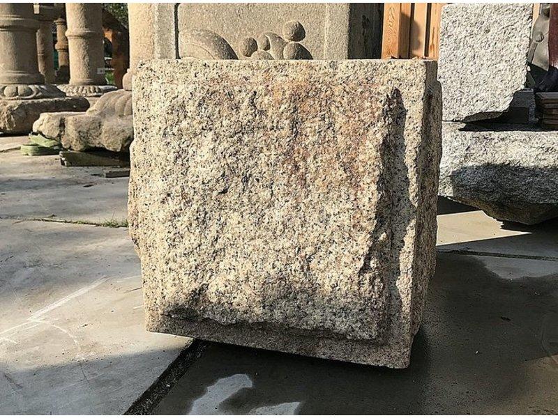 Japans Tsukubai-vierkant 50 cm