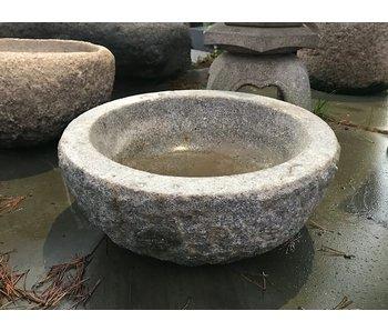 Japanse Tsukubai schaal 21 cm