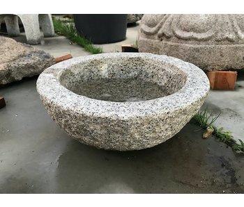 Ciotola giapponese Tsukubai 22 cm