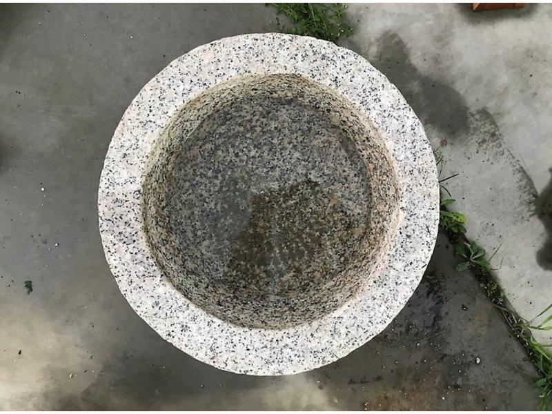 Tazón Tsukubai japonés 22 cm